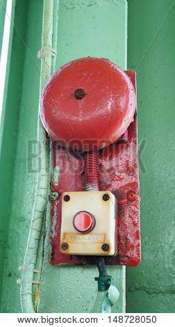 Vintage alarm bell