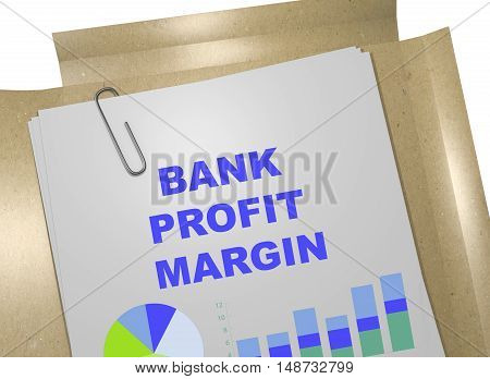 Bank Profit Margin Concept