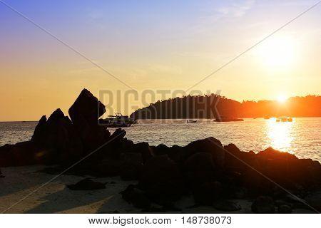 Stone Beach Flare Silhouetttes
