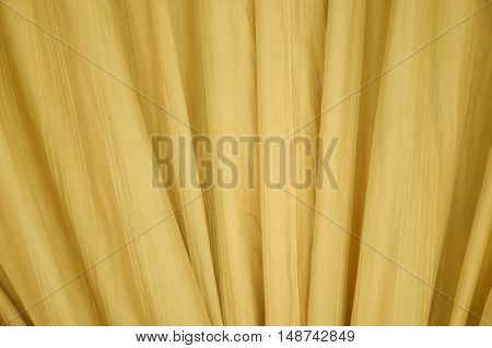 gold curtain or drapery texture for background