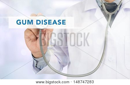 Gum Disease Concept