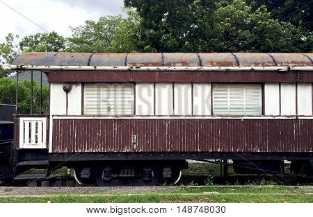 Vintage Wood Train Railway Transportation