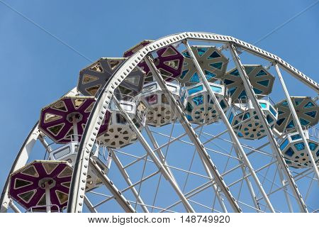 Ferris Wheel fun and entertainment in the amusement park