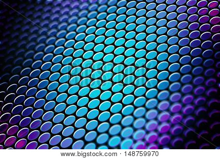 Colorful Circles Background Abstract 3D Redner Illustration.