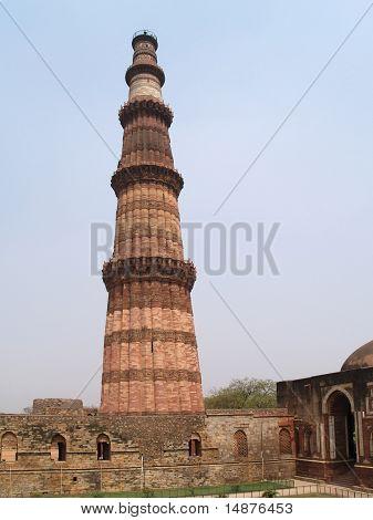 India, Delhi: Qutab Minar