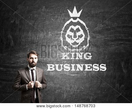 King Of Business Portrait