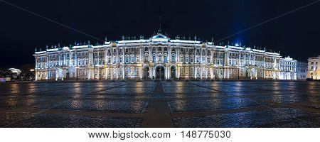 Winter Palace, State Hermitage museum, Saint-Petersburg, Russia