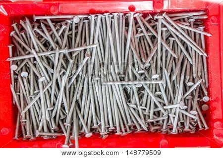 a box of nails