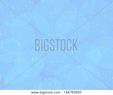 Blue speckled vector background with transparent circles