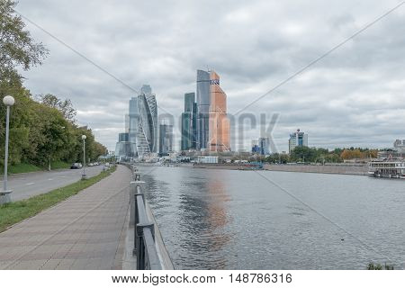 Moscow, Russia - September 25, 2016: Mosocw City