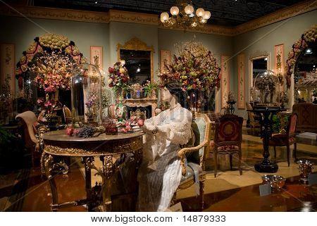 Victorian Room Philadelphia Flower Show