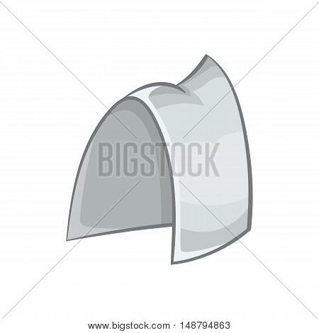 Traditional sweden headwear icon in cartoon style isolated on white background vector illustration