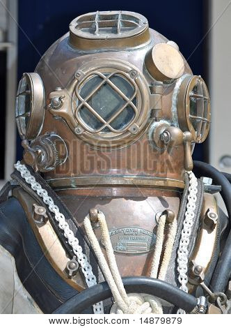 U.S. Navy Diving Helmet