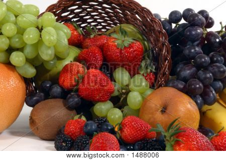 Fruit Basket Close-Up