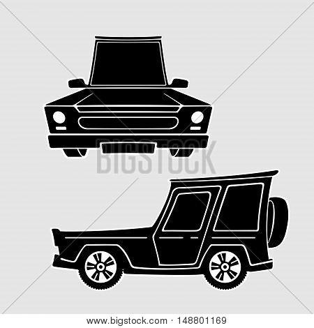 Vector Symbol Set Car eps 8 file format