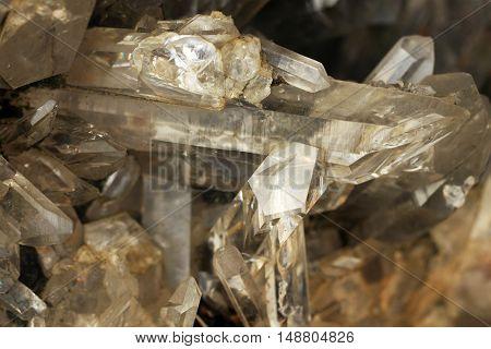 Rock crystal or quartz crystal is a powerful spiritual stone
