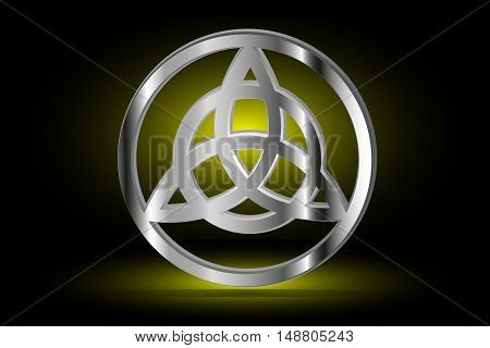 Vector , illustration , symbol of strength honor and glory ,