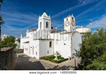Panoramic view of Igreja de Santa Maria do Castelo Matriz