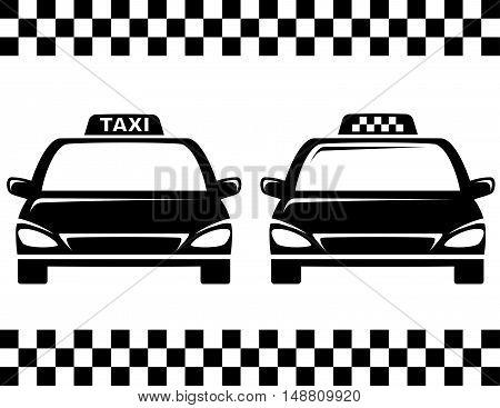 Black Taxi Cars