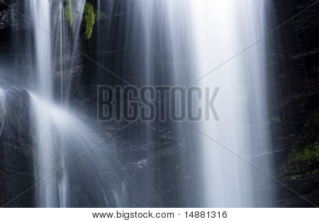 Small Part Of Waterfall