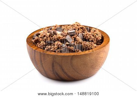 Muesli With Pieces Of Chocolate