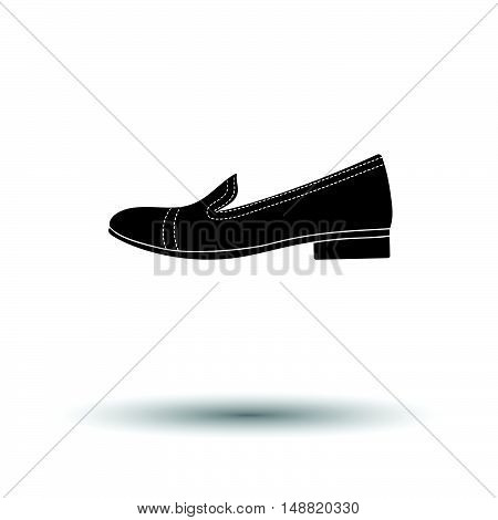 Woman Low Heel Shoe Icon