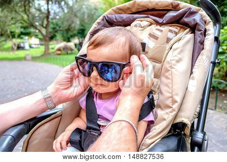 newborn sun glasses cool attitude babies fun