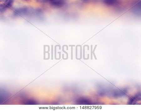 Purple and yellow blurred background for ppt, card template.