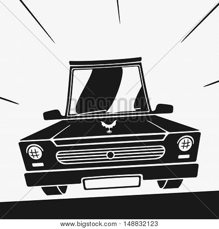 Vector Symbol Car eps 8 file format
