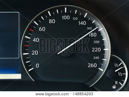 Driving over the speed limit