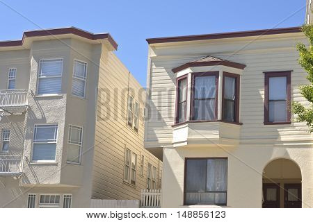 San Francisco California real estate and urban living.
