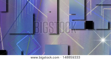Abstract  3D Render