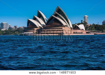 Sydney Opera House NSW Australia.Sep 26,2016Sydney Opera House is one of the modern building, well known worldwide.