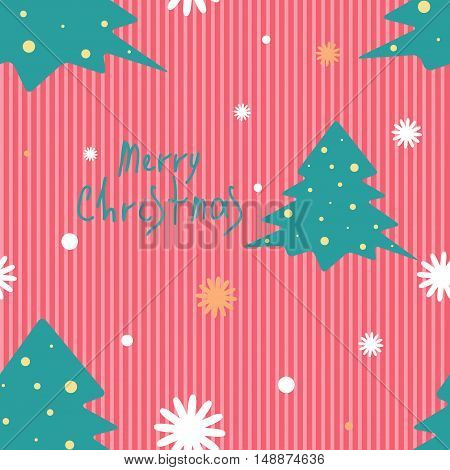 Seamless Christmas vector pattern for wallpaper, wrapping, patterns, greetings, Christmas and New Year cards. Eps10