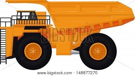 cute dump truck cartoon for you design