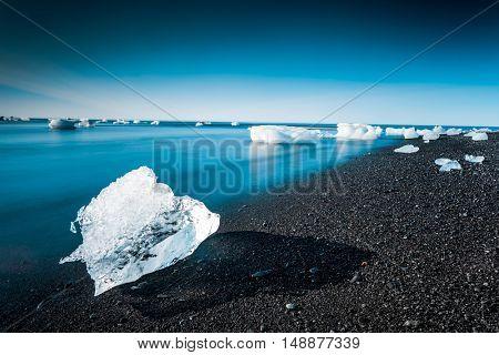 The amazing Jokulsarlon Glaciar Lagoon