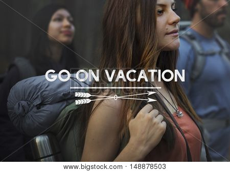 Go on Vacation Traveling Exploration Journey Concept