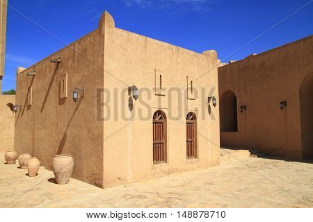 Jabrin Castle, Sultanate of Oman. Built in 1675 by Imam Bil-arab bin Sultan
