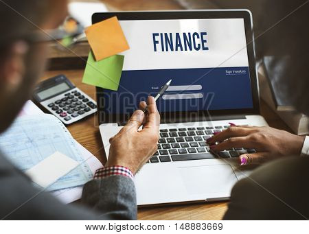 Finance Planning Balance Banking Budget Revenue Concept