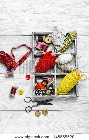 Tools For Sewing And Needlework