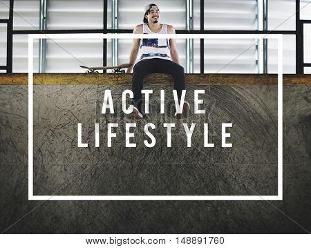 Active Lifestyle Activity Leisure Concept