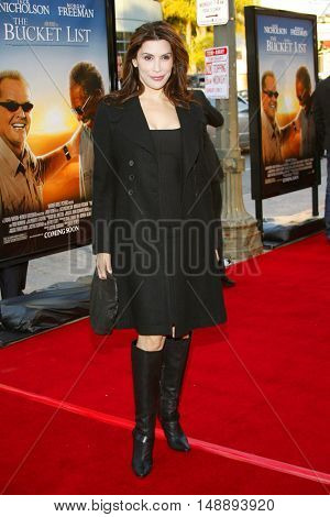 Jo Champa at the World premiere of 'The Bucket List' held at the ArcLight Theaters in Hollywood, USA on December 16, 2007.