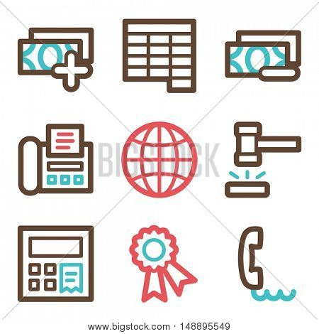 Finance mobile icon, business vector web sign. Money infographics symbols.