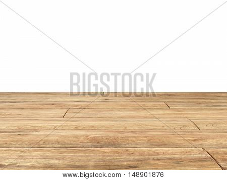 wooden board backgrownd 3d render close up