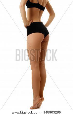 Beautiful Female Slim Body. Beauty Part Of Female Body. Woman's