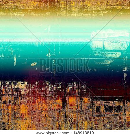 Creative vintage surface texture, close up grunge background composition. With different color patterns: yellow (beige); brown; blue; red (orange); pink; white