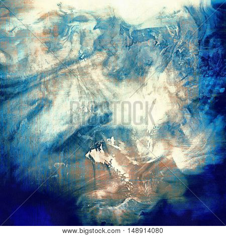 Retro texture, shabby and ragged background in grunge style. With different color patterns: yellow (beige); brown; gray; blue; white; cyan