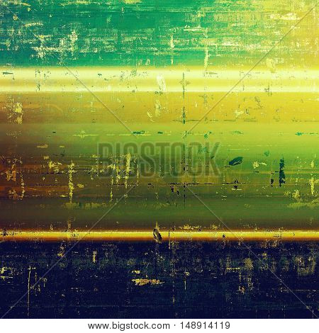 Creative vintage surface texture, close up grunge background composition. With different color patterns: yellow (beige); brown; green; blue