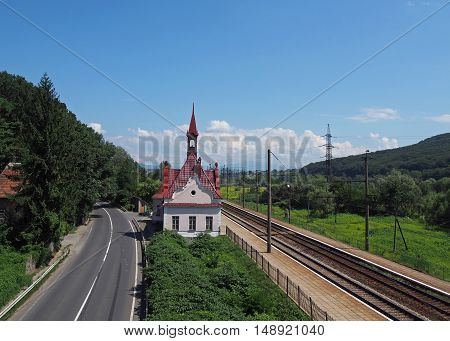 The small and original railway station the