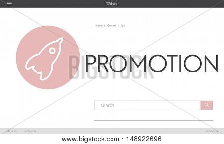Promotion New Business Launch Plan Concept